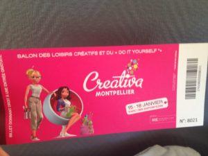 Une place pour Créativa Montpellier à gagner!