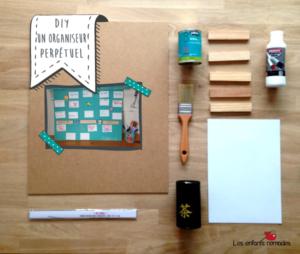 [DIY] un organiseur perpétuel