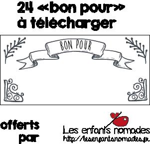 [free-printable] des «bon pour» à télécharger