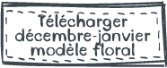 Planificateur-décembre-janvier-floral