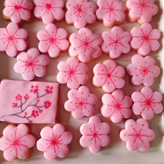 Sablés kawaï sakura
