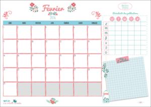 [planner] L'organiseur de février à télécharger