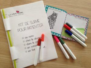 Kit à imprimer gratuitement pour occuper les enfants