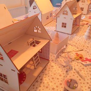 Maison en Bois à décorer et aménager
