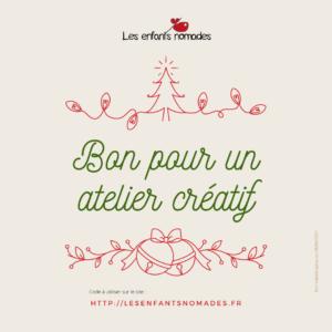 Bon Cadeau Atelier créatif (enfant)