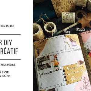 20 mars : Carnet Créatif