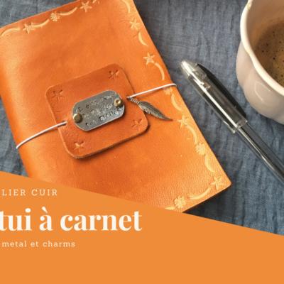 20 mars • Soirée DIY : étui à Carnet en cuir