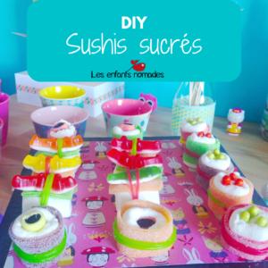 Sushi sucrés