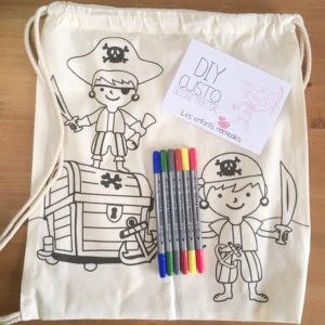Customisation – Sac à dos Pirates