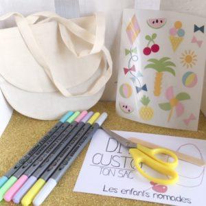 A – Customisation – Sac à Bandoulière – Vacances