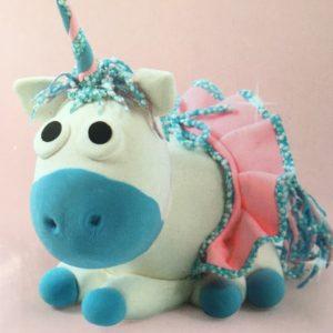 A – Modelage – Licorne Bleue