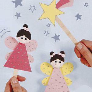 B – Pochette créative : les princesses