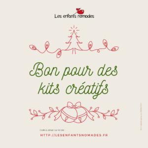 Bon Cadeau Kits créatifs